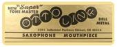 otto link saxophone mouthpieces for sale